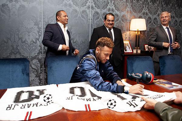 The Qatar National Bank announced Neymar Jr. as its Global Brand Ambassador