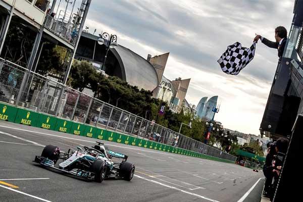 The Azerbaijan Grand Prix